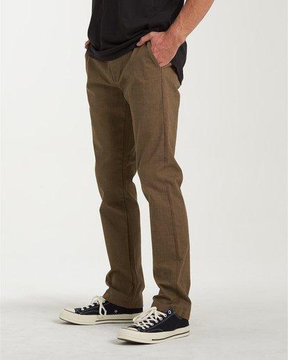 1 Carter Yarndye Chino Pants Grey M315VBCY Billabong