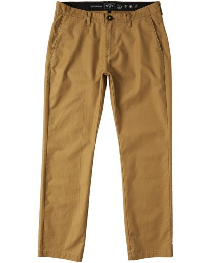 0 A/Div Surftrek Pant Brown M3163BSP Billabong