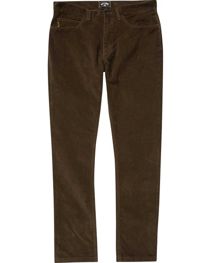 0 Outsider Cord Pant  M316QBOU Billabong
