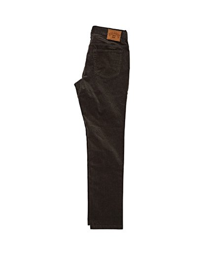 4 Outsider Corduroy Pant Black M316WBOU Billabong