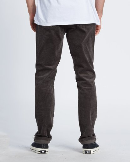 2 Outsider Corduroy Pant Black M316WBOU Billabong