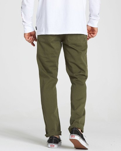 2 Collins Pant Green M317QBCO Billabong