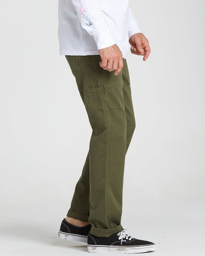 1 Collins Pant Green M317QBCO Billabong