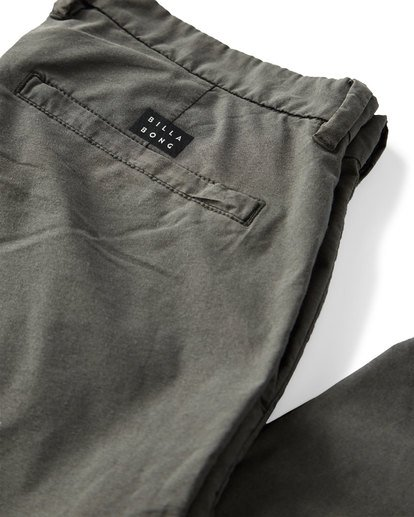 4 New Order X Overdye Pants Black M318VBSC Billabong