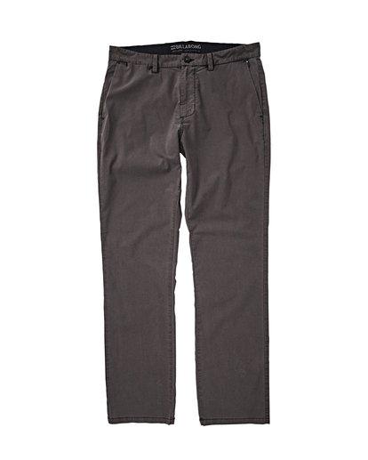 0 New Order X Overdye Pants Black M318VBSC Billabong