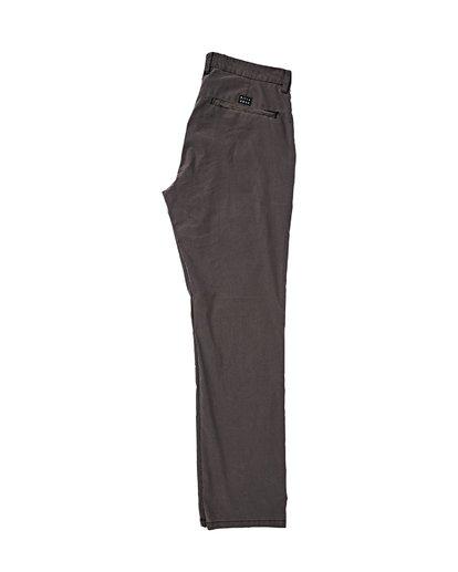 1 New Order X Overdye Pants Black M318VBSC Billabong