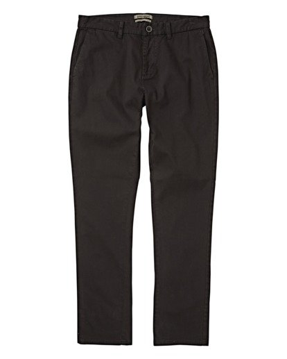6 New Order Chino Pants Black M320VBNO Billabong