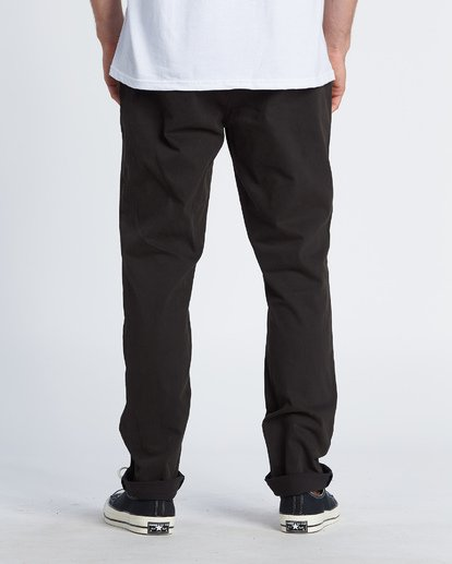 2 New Order Chino Pants Black M320VBNO Billabong