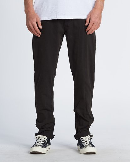 0 New Order Chino Pants Black M320VBNO Billabong