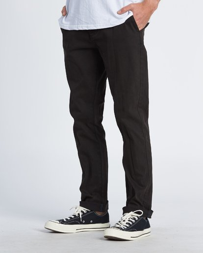 1 New Order Chino Pants Black M320VBNO Billabong