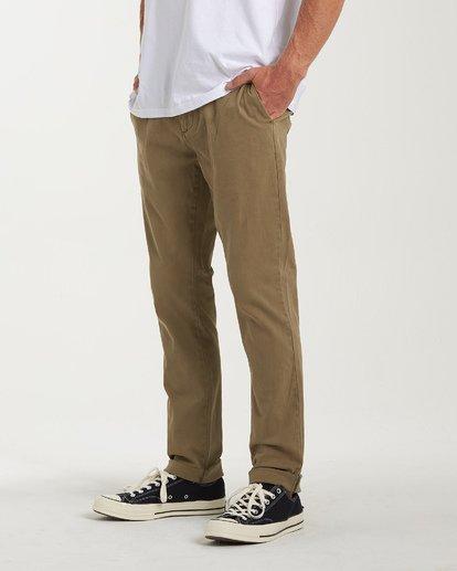 6 New Order Chino Pants  M320VBNO Billabong