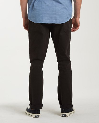 5 New Order Chino Pants Black M320VBNO Billabong