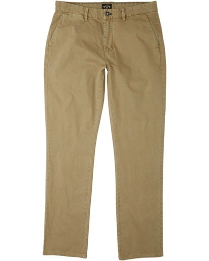 0 73 Chino Pant Brown M3213BSC Billabong