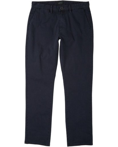0 73 Chino Pant Blue M3213BSC Billabong