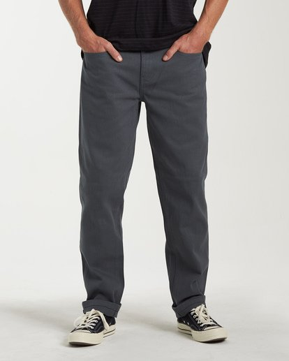 0 Fifty Jeans Grey M331VBFJ Billabong