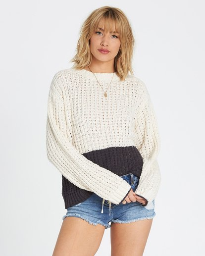 0 Block Party Sweater Noir M3JP01BIW8 Billabong