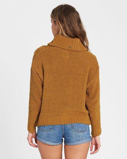 3 On A Roll Chenille Sweater Jaune M3JP02BIW8 Billabong