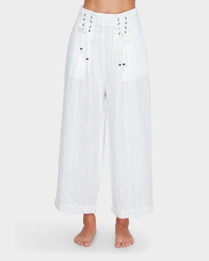 5 Luna High Waisted Pant Blanc M3PT03BIMU Billabong
