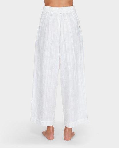 6 Luna High Waisted Pant Blanc M3PT03BIMU Billabong