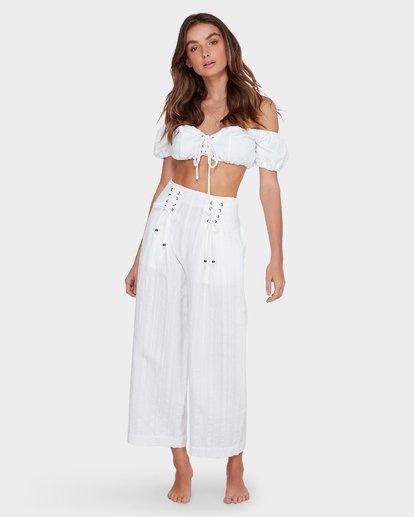 7 Luna High Waisted Pant Blanc M3PT03BIMU Billabong