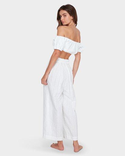 8 Luna High Waisted Pant Blanc M3PT03BIMU Billabong