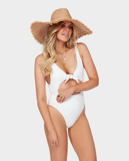 2 The Kim One Piece Swim White M3SW03BIMU Billabong