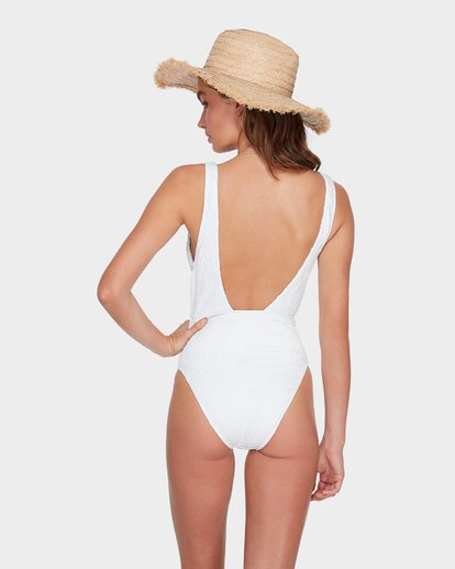 5 The Kim One Piece Swim White M3SW03BIMU Billabong
