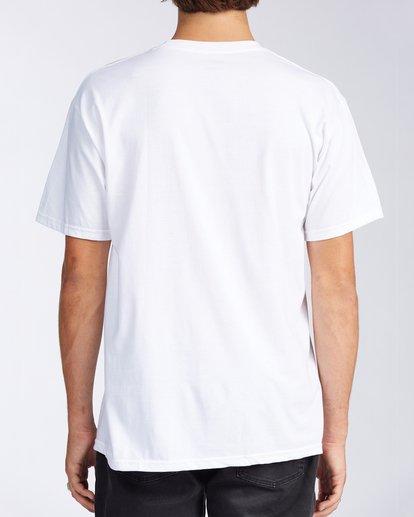 2 Florida Breach Short Sleeve T-Shirt White M400GBFL Billabong