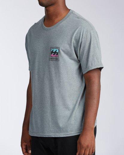 1 Santa Cruz Burleigh Wave Short Sleeve T-Shirt Green M401KBSC Billabong