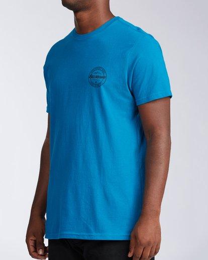 1 Whistler Coopertown Short Sleeve T-Shirt Blue M401KCCW Billabong