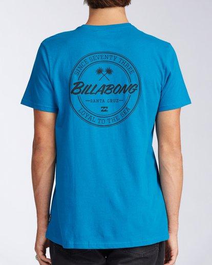 2 Santa Cruz Coopertown Short Sleeve T-Shirt Blue M401KCSC Billabong