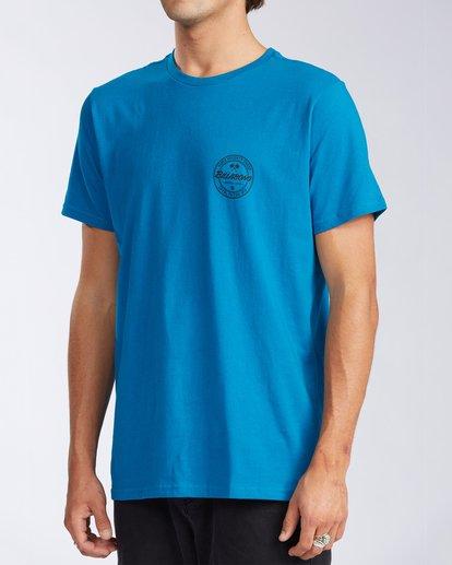 1 Santa Cruz Coopertown Short Sleeve T-Shirt Blue M401KCSC Billabong