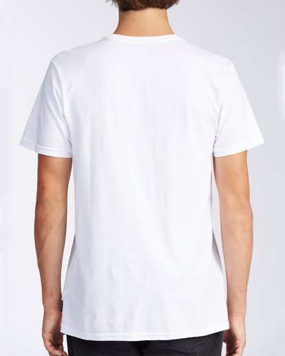 2 Whistler Inverse Short Sleeve T-Shirt White M401KICW Billabong