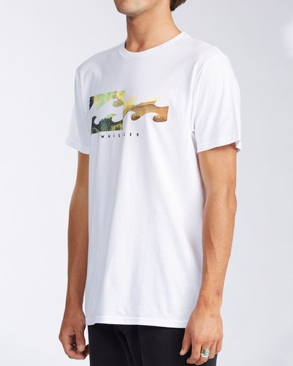 1 Whistler Inverse Short Sleeve T-Shirt White M401KICW Billabong