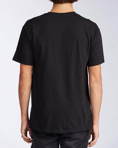 2 Access Laguna Short Sleeve T-Shirt Black M401LALB Billabong