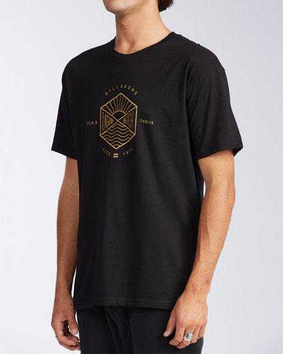 1 Access Laguna Short Sleeve T-Shirt Black M401LALB Billabong
