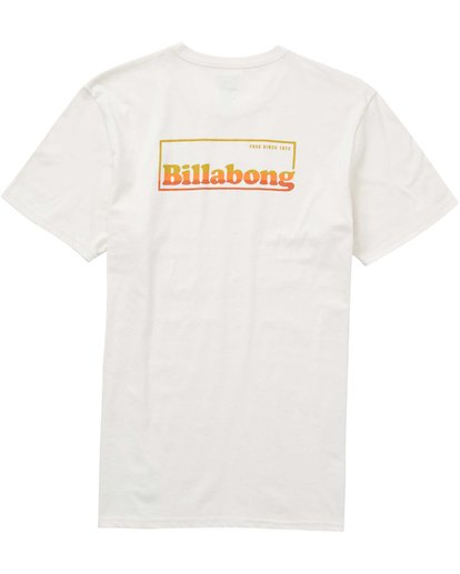 1 Free 73 T-Shirt White M401PBFR Billabong