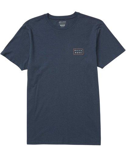 1 Die Cut Theme T-Shirt  M401QBDT Billabong