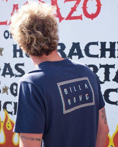 0 Die Cut Theme T-Shirt  M401QBDT Billabong