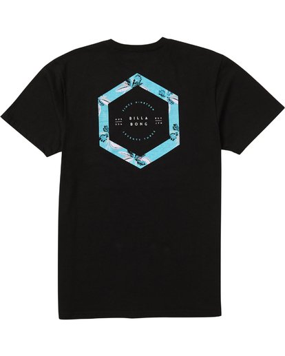 1 Access Border T-Shirt Black M401SBBO Billabong