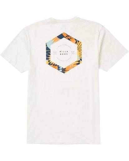 1 Access Border T-Shirt White M401SBBO Billabong