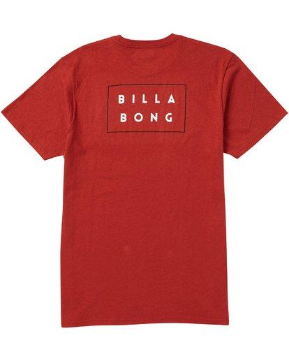 1 Die Cut T-Shirt Red M401SBDI Billabong