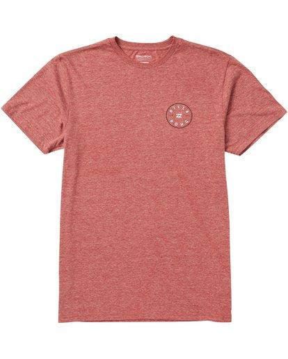0 Rotor Tee Shirt Red M401SBRO Billabong