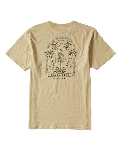 1 Cobra Short Sleeve T-Shirt Beige M401UCOR Billabong