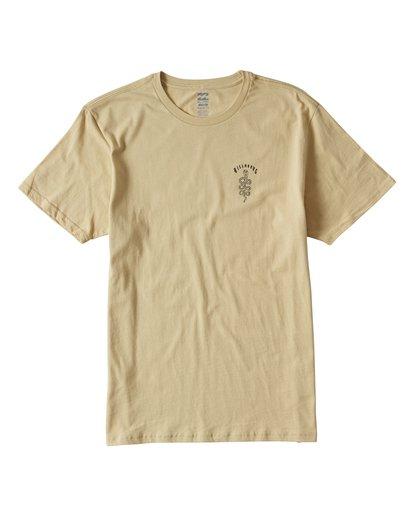 0 Cobra Short Sleeve T-Shirt Beige M401UCOR Billabong