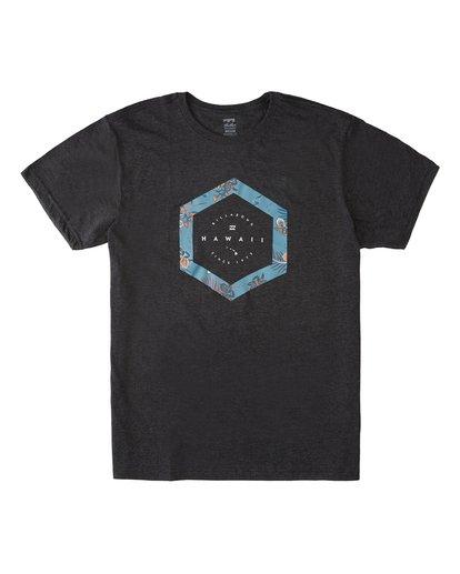 3 Access Hawaii Short Sleeve T-Shirt Black M401VBAC Billabong