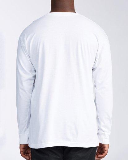 2 Santa Cruz Vibes Short Sleeve T-Shirt White M402KVSC Billabong