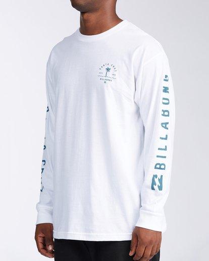 1 Santa Cruz Vibes Short Sleeve T-Shirt White M402KVSC Billabong