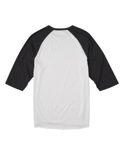 4 Master Of Puppets Baseball T-Shirt  M4031BMP Billabong