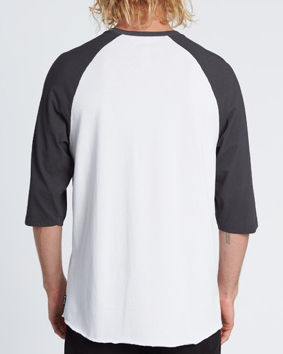 2 Master Of Puppets Baseball T-Shirt  M4031BMP Billabong